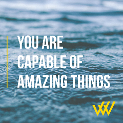 Row House You Are Capable Of Amazing Things - Melinda Partin